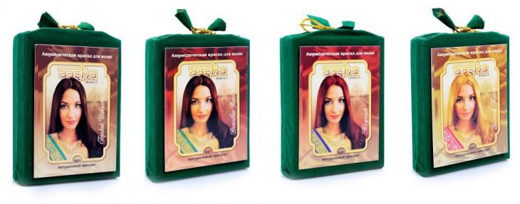 Веганские средства для волос Aasha