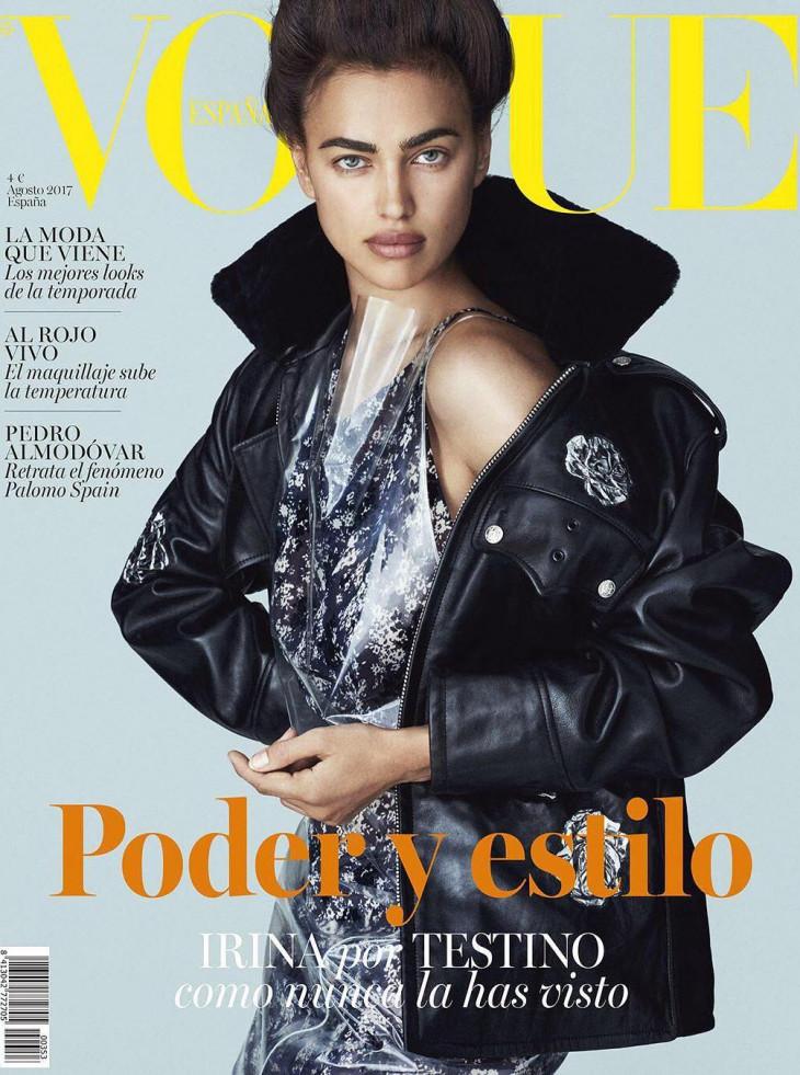 Ирина Шейк фотосессия для Vogue