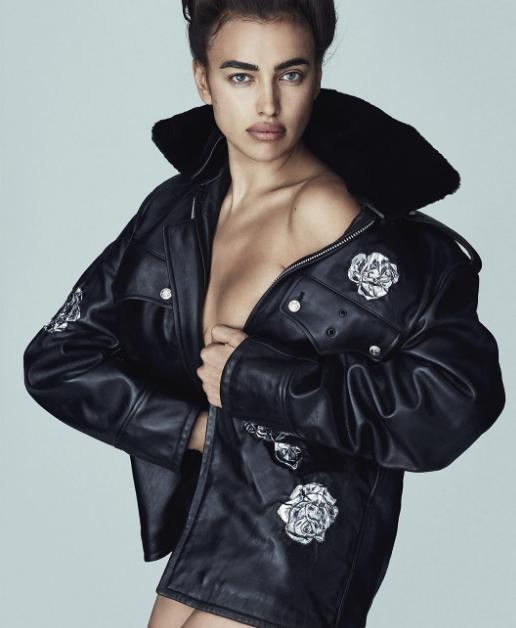 Ирина Шейк для Vogue