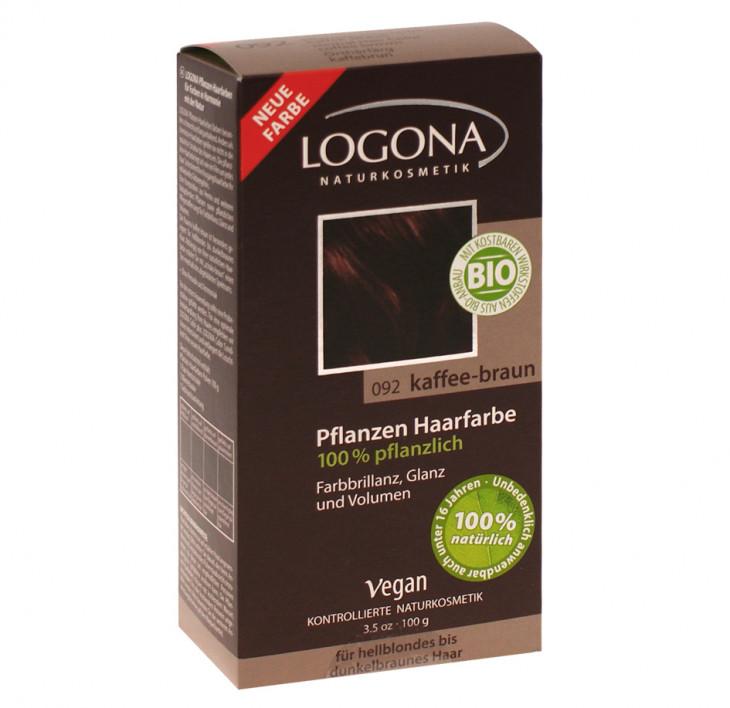 Веганская краска для волос Logona