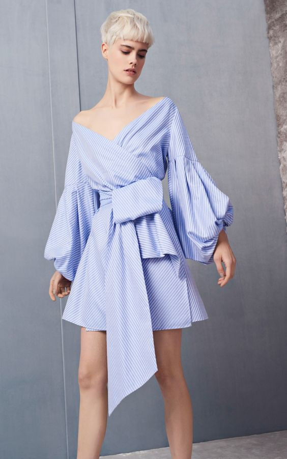 af9146950c48 Платье с запахом стало трендом этого лета