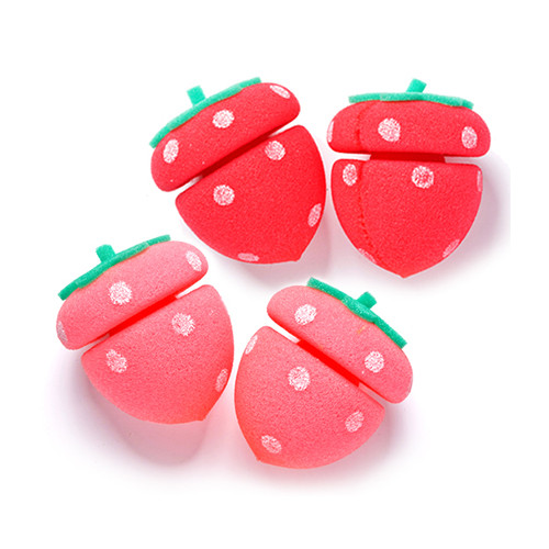 Бигуди Etude House My Beauty Tool Strawberry Sponge Hair Curlers