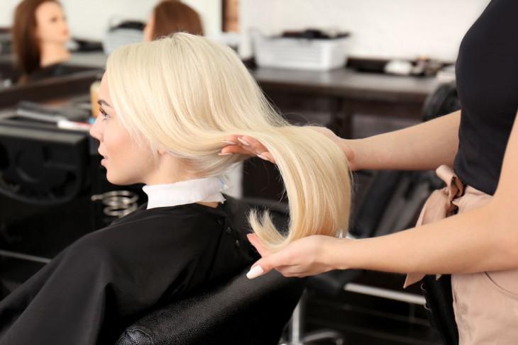 Ламинирование волос в салоне