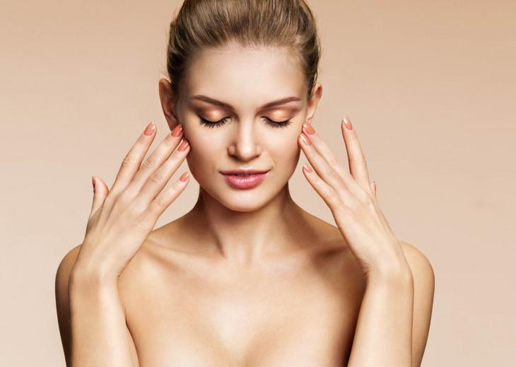Совет 1 Как отбелить кожу вокруг глаз