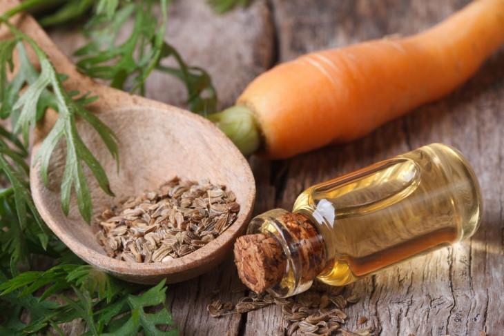 Масло семянморкови польза в уходе за кожей