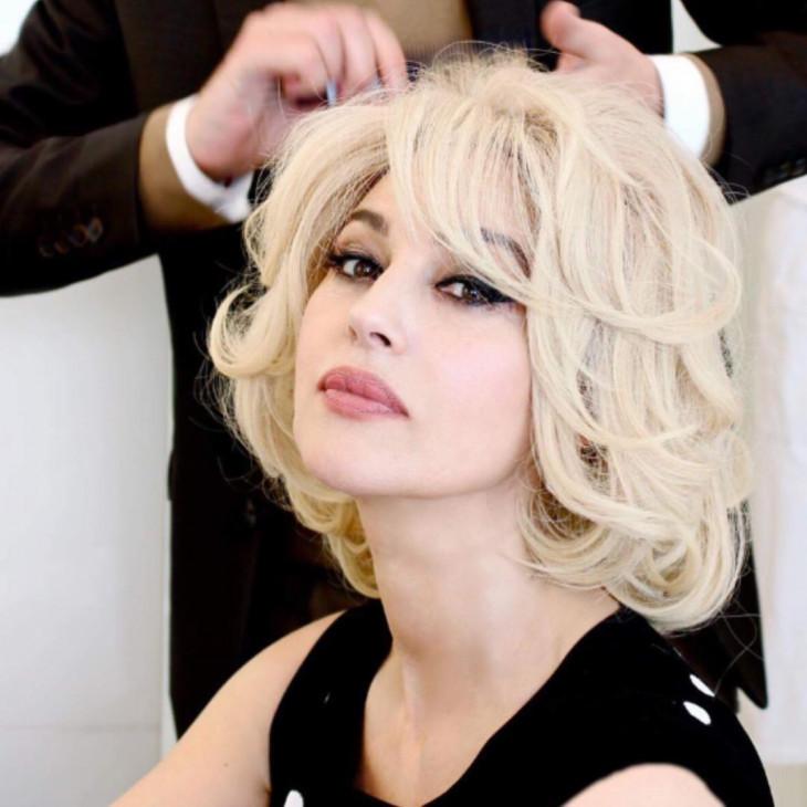 Моника Беллуччи блондинка