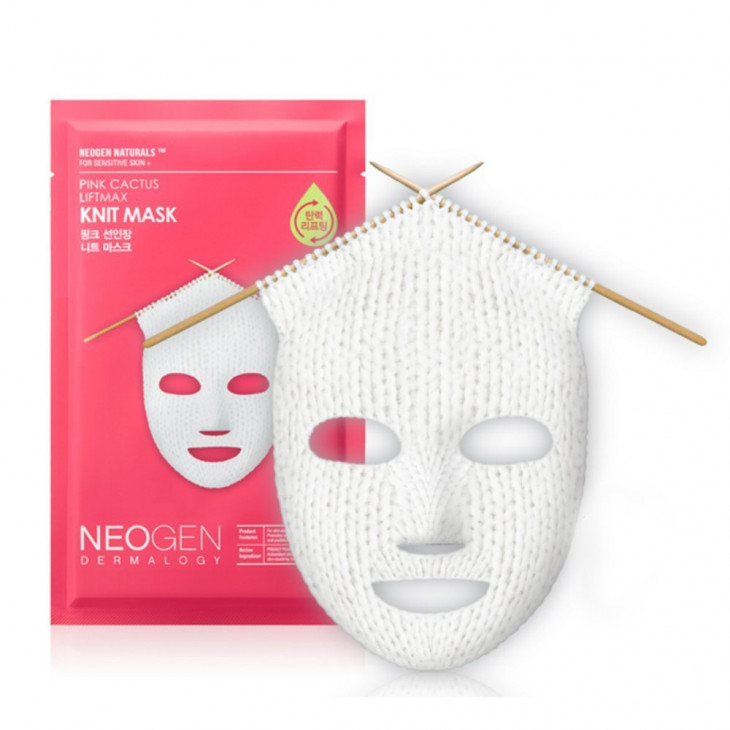 Neogen Pink Cactus Liftmax Knit Mask