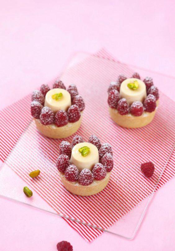 Десерты из малины