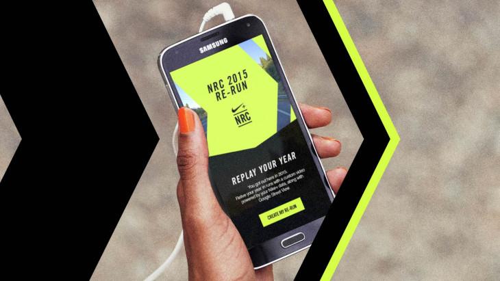 Nike+ Run Club приложение для бега
