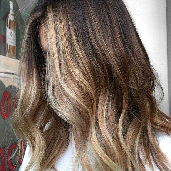 Стильный контуринг волос