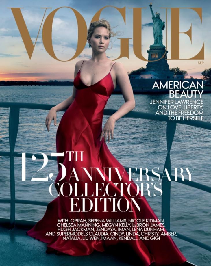 Дженнифер Лоуренс для Vogue