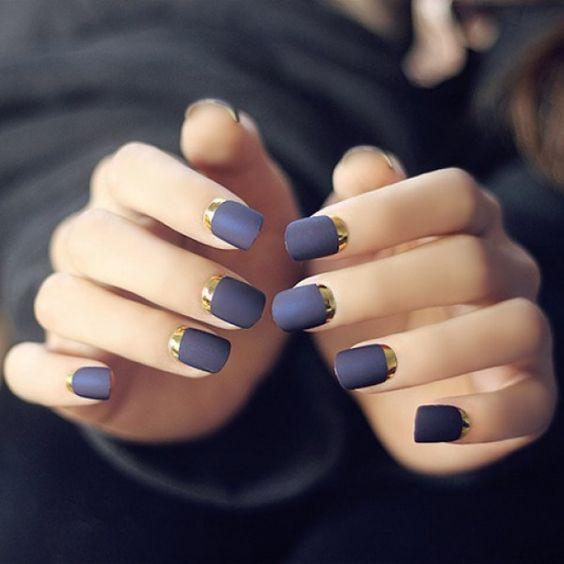 матовое покрытие для ногтей