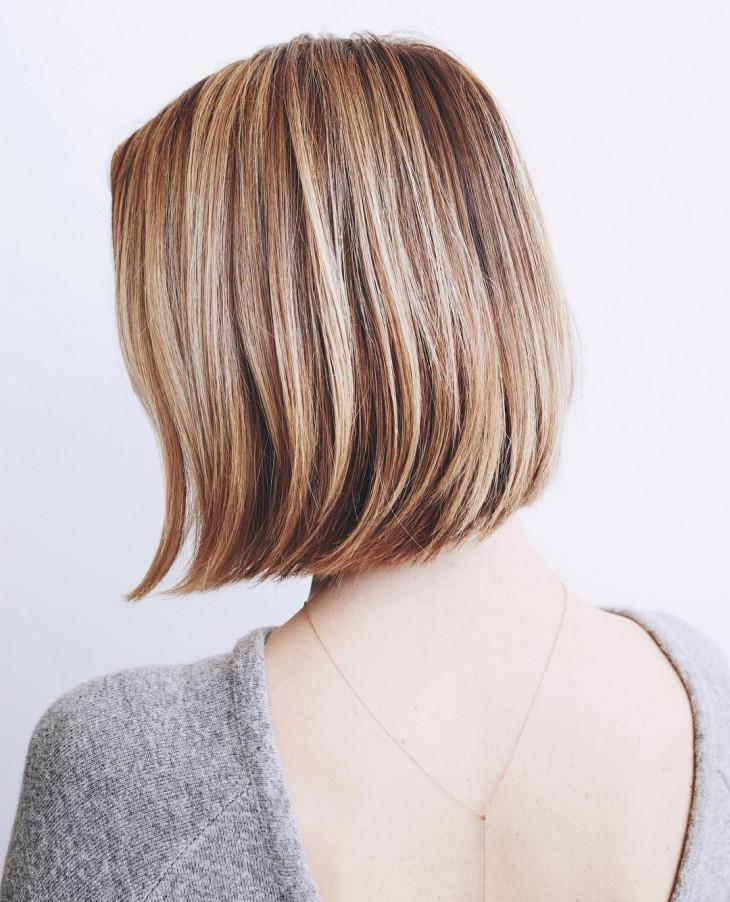 укладка на короткие волосы боб