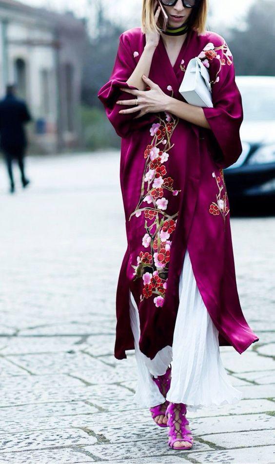 как одевать кимоно