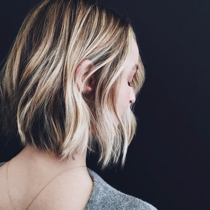осенние укладки на короткие волосы