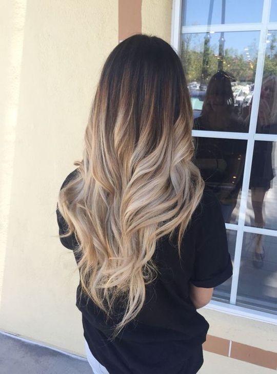 окрашивание волос 2017 фото новинки блонд