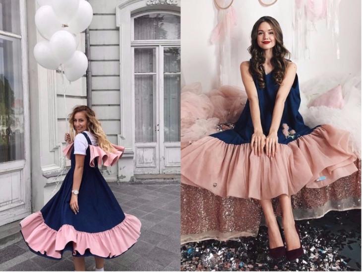 Julia Gurskaja платья как носить