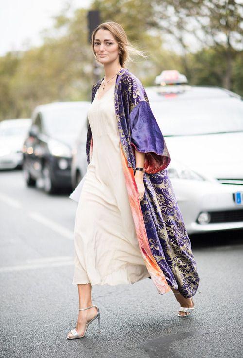 Кимоно и платье
