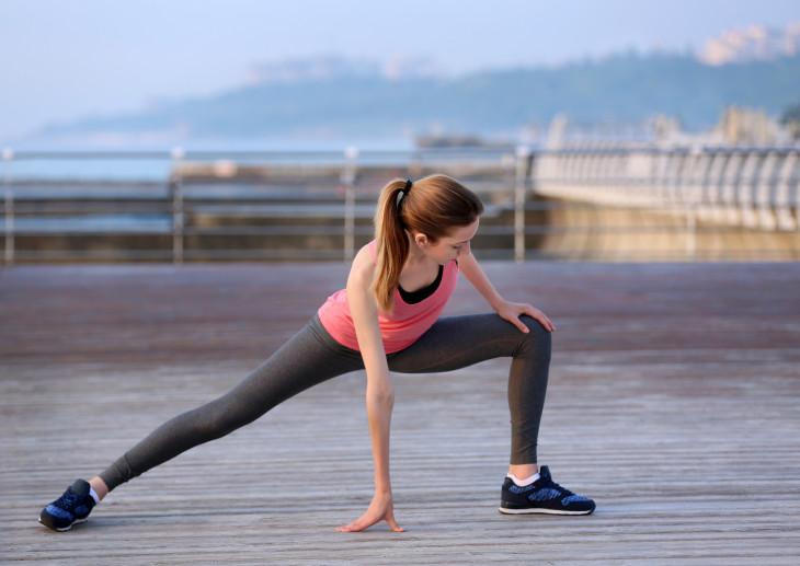утрення зарядка упражнения