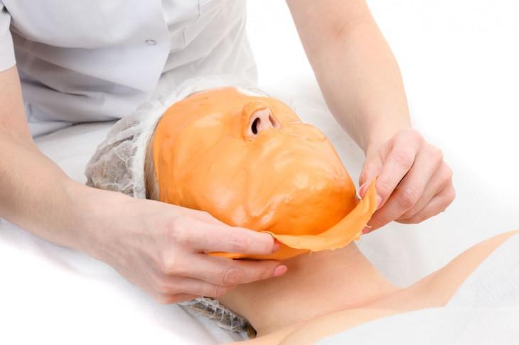 Как снять альгинатную маску