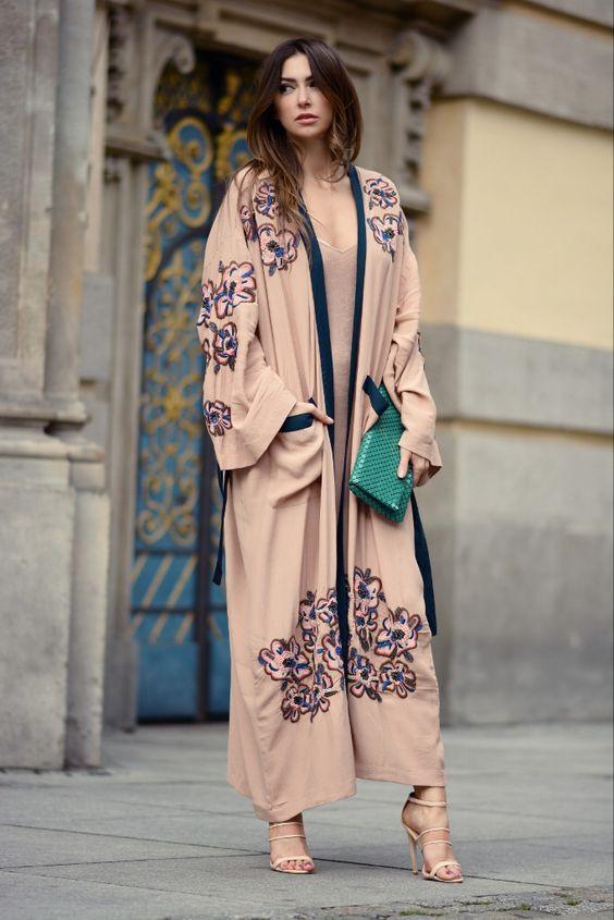 Стильное кимоно