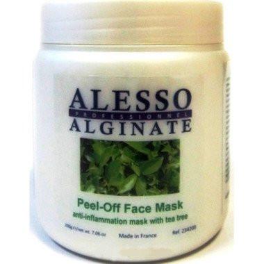 Альгинатная с маслом чайного дерева Alesso Professionnel Alginate Peel-Off Face Mask