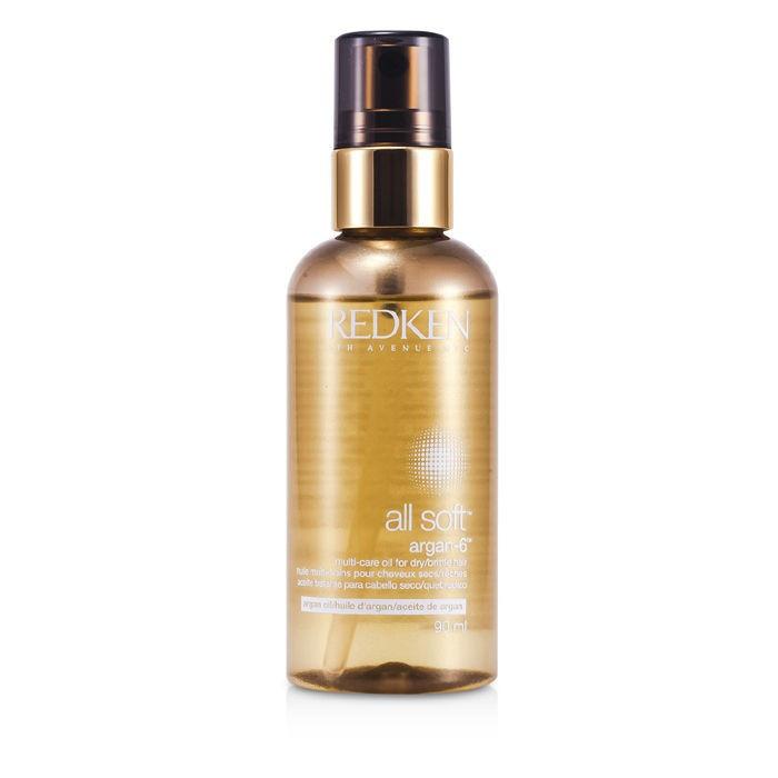 Аргановое масло для сухих и поврежденных волос Redken All Soft Argan-6 Oil, 90 ml 790 грн