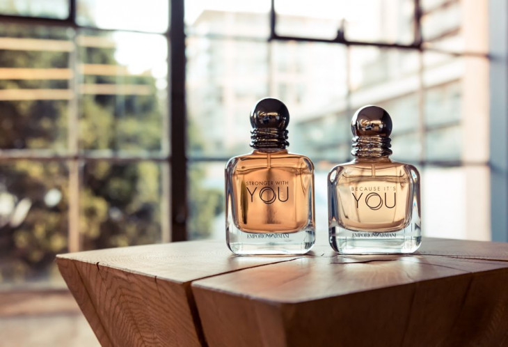 Новые ароматы Emporio Armani Because it's you и Stronger with you