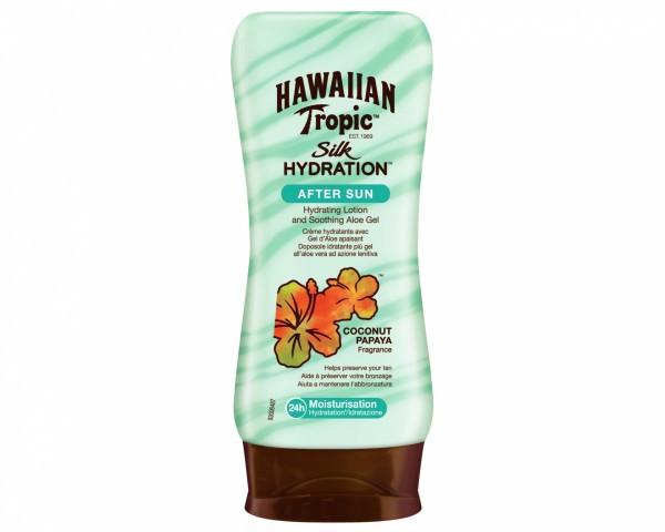 Успокаивающий лосьон после загара Hawaiian Tropic Silk Hydration After Sun Lotion