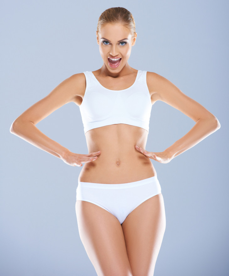 как похудеть после родов кесарево