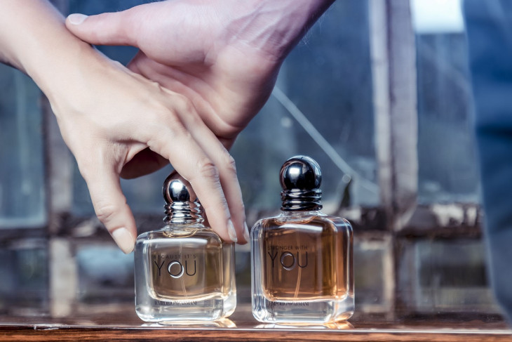 Как пахнут ароматы Because it's you и Stronger with you Emporio Armani