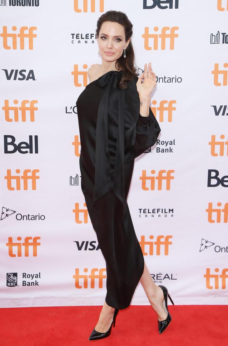 Алджелина Джоли в Торонто