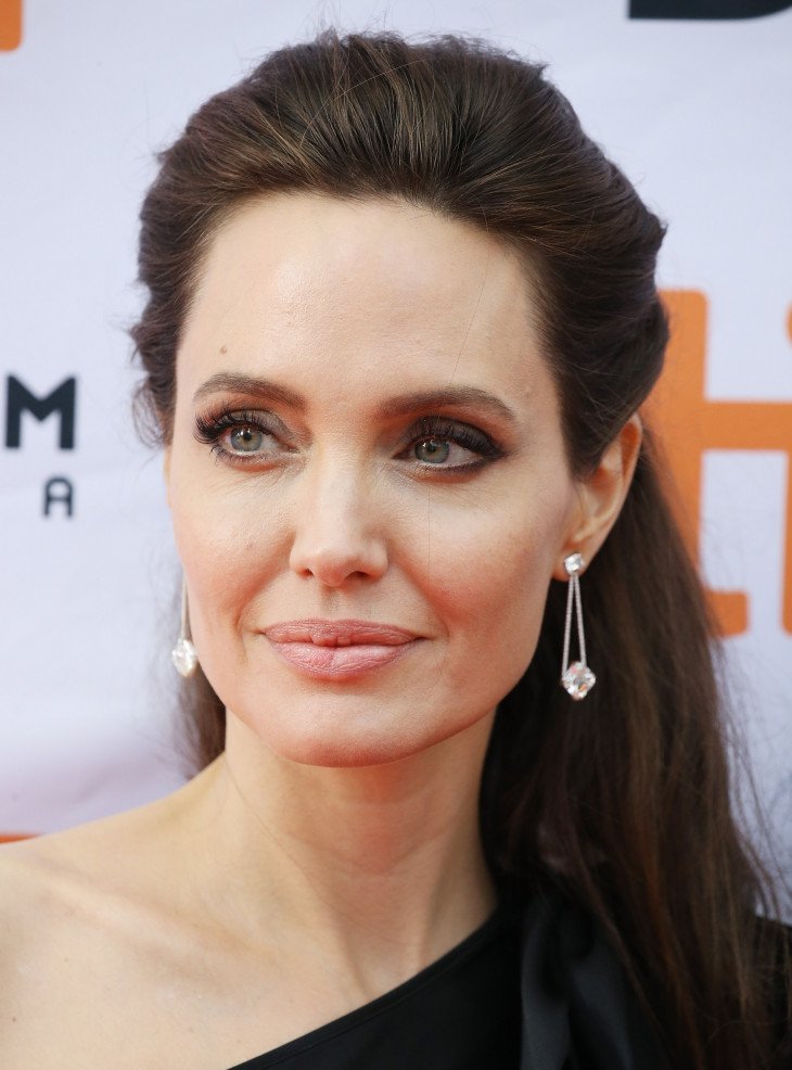 Алджелина Джоли макияж