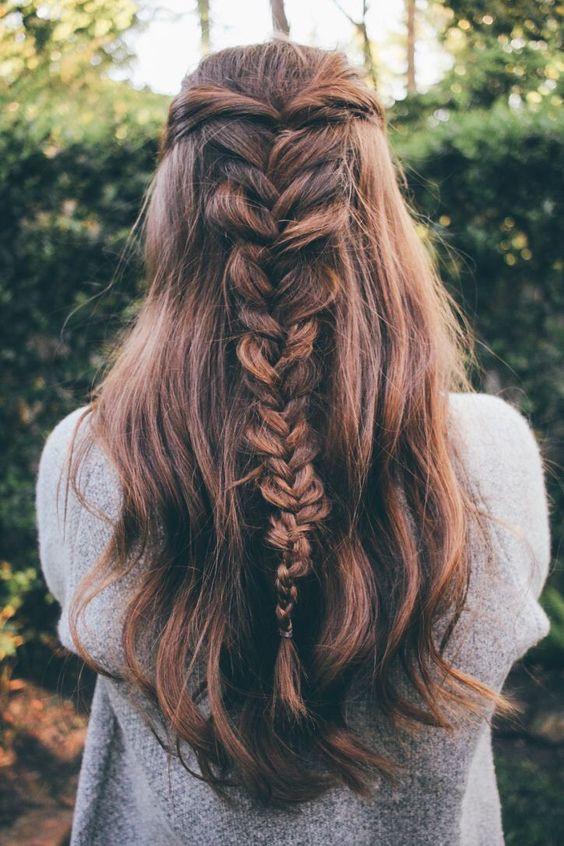 прически на длинные волосы на каждый день
