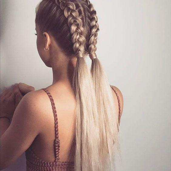 Модные косы