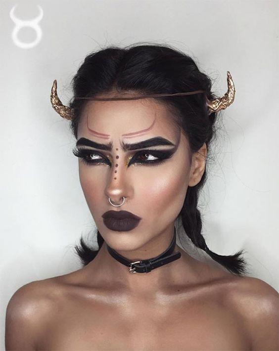 интересный образ на хэллоуин 2018