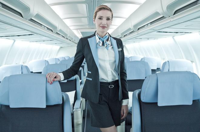 Уход за кожей стюардессы