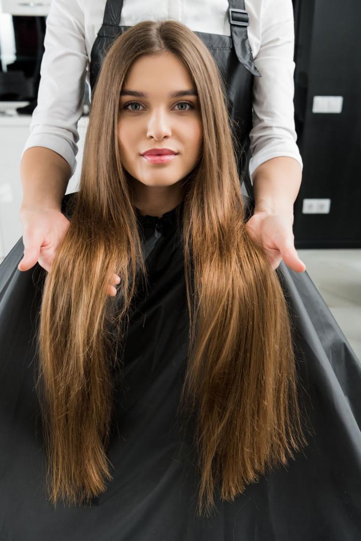 Как сделать волосы гуще в салоне фото 1000