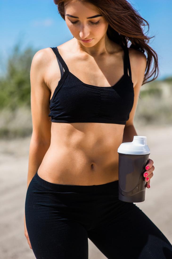 как убрать жир с живота спины