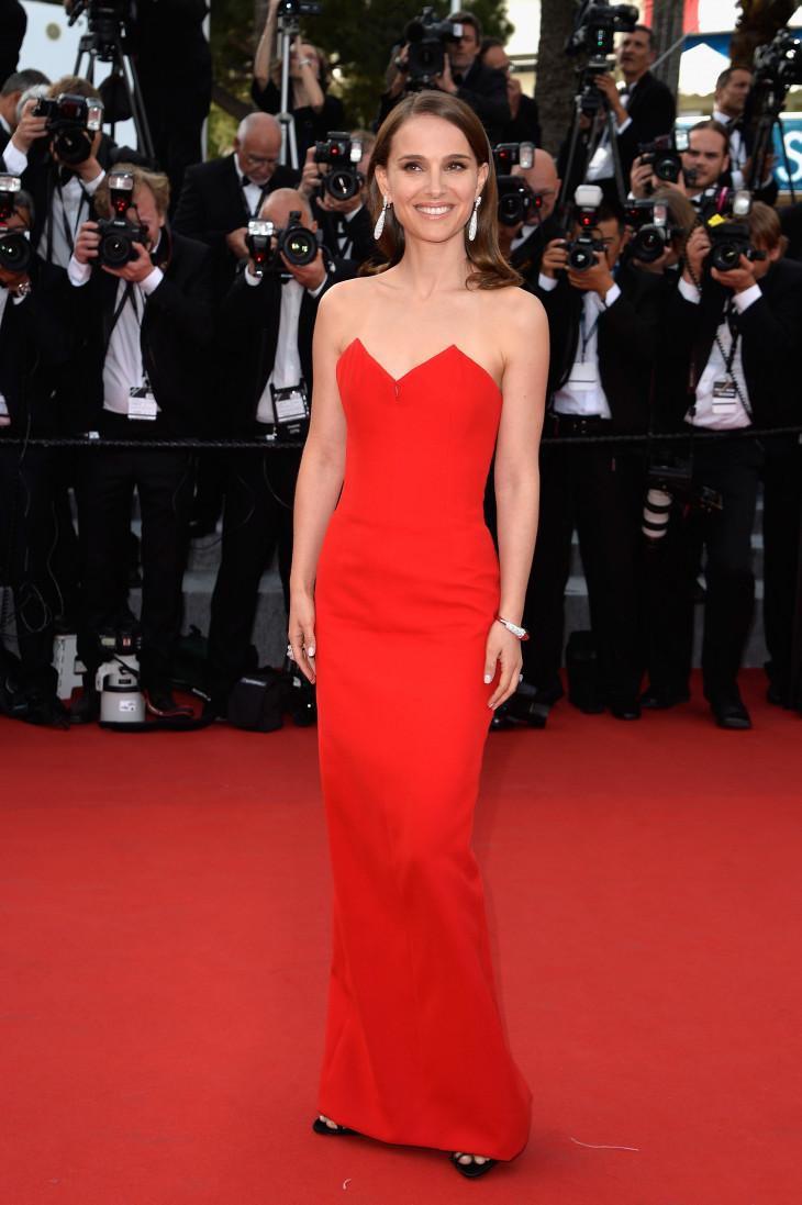 Натали Портман в платье