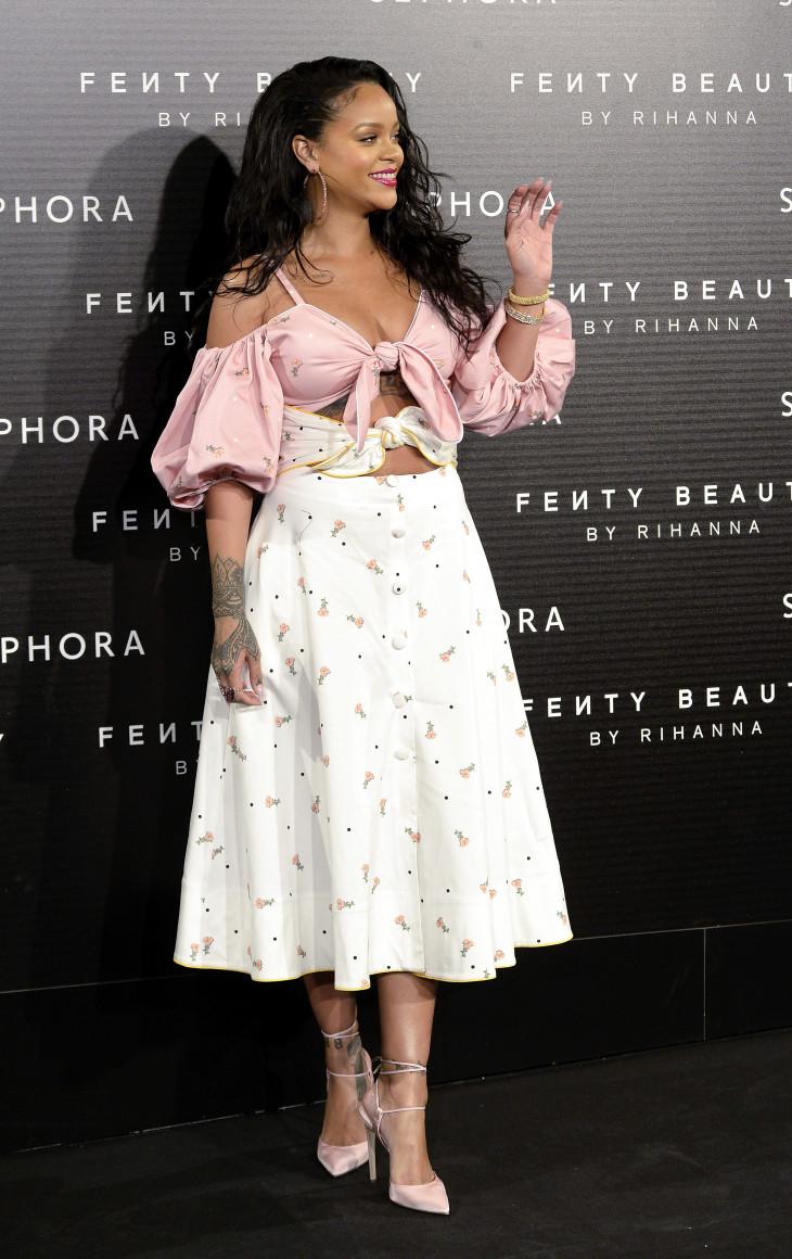 Рианна в платье украинского дизайнера Марианна Сенчина
