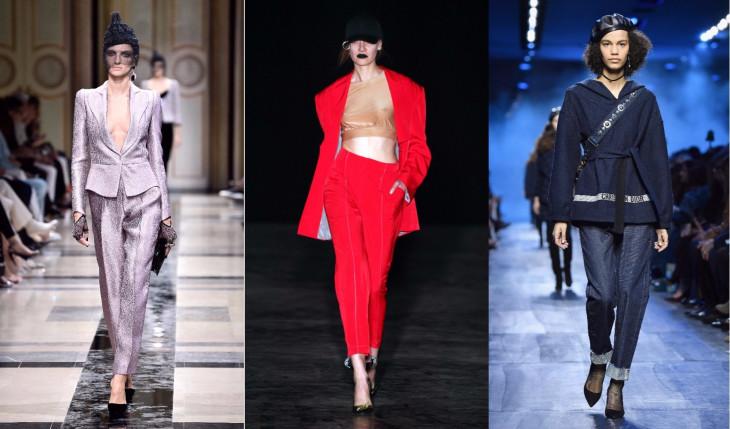 укороченные брюки женские на осень