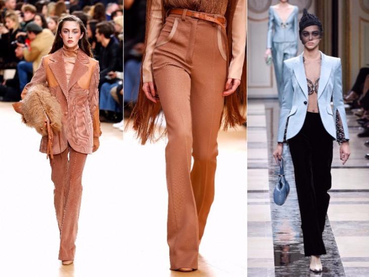 модные брюки клеш 2017
