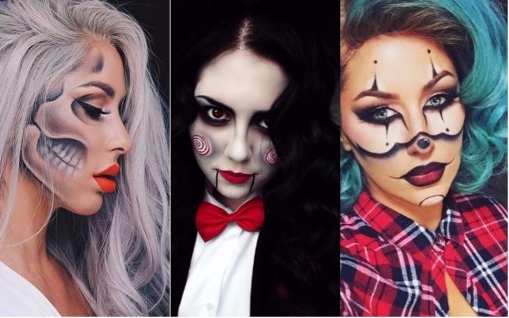 Простые прически на Хэллоуин