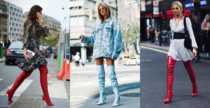 модные сапоги очень 2017