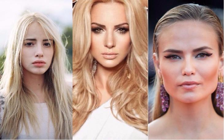 макияж для блондинок с карими глазами