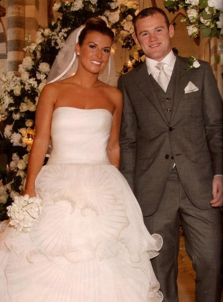 Колин Руни свадебное платье