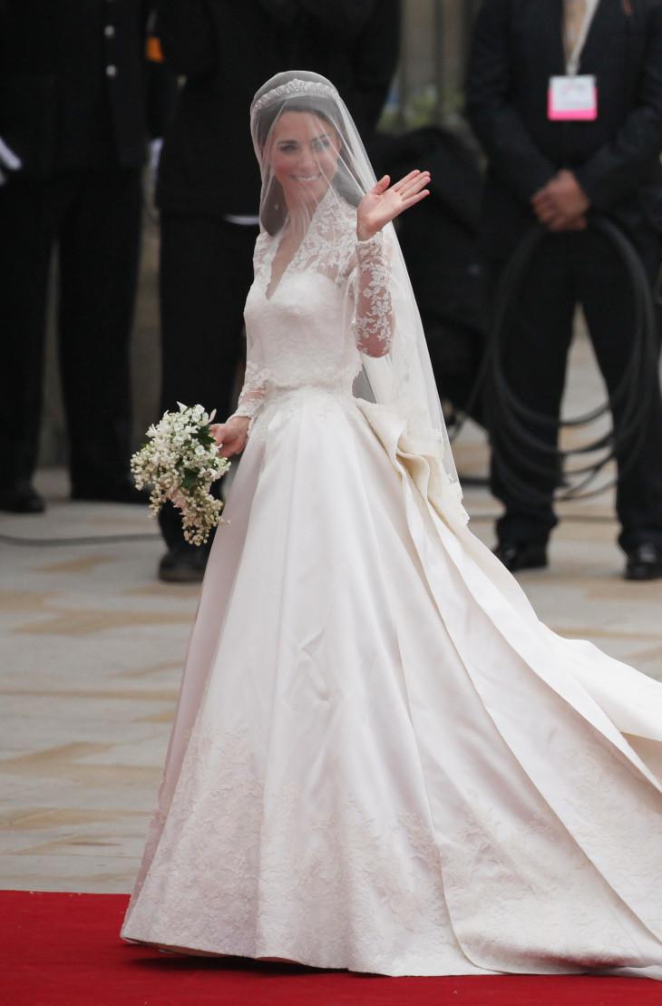 Кейт Мидллтон свадебное платье