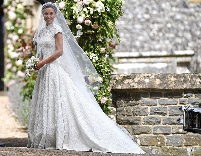 пиппа миддлтон свадебное платье