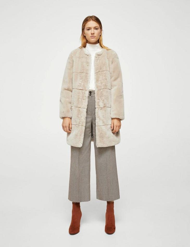 модные искусственные шубы 2018